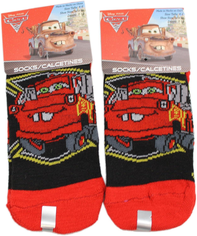 new Cars McQueen Socks foot Sox set 2 pairs boys girls kids cartoon