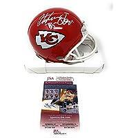 $89 » Christian Okoye Kansas City Signed Autograph Mini Helmet JSA Witnessed Certified