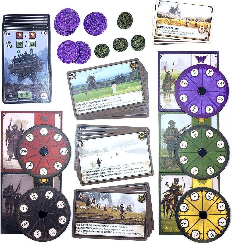 Scythe Board Game - Promo Bundle - Coins - Dials - Encounter ...