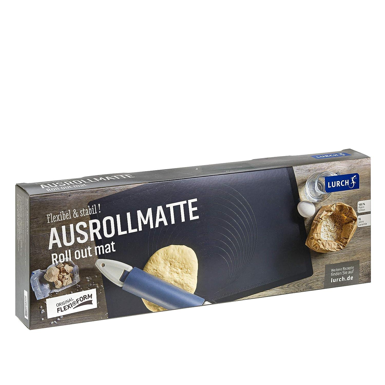 Lurch Germany Flexiform 15.7 x 23.6 Inch Silicone Baking Mat Black