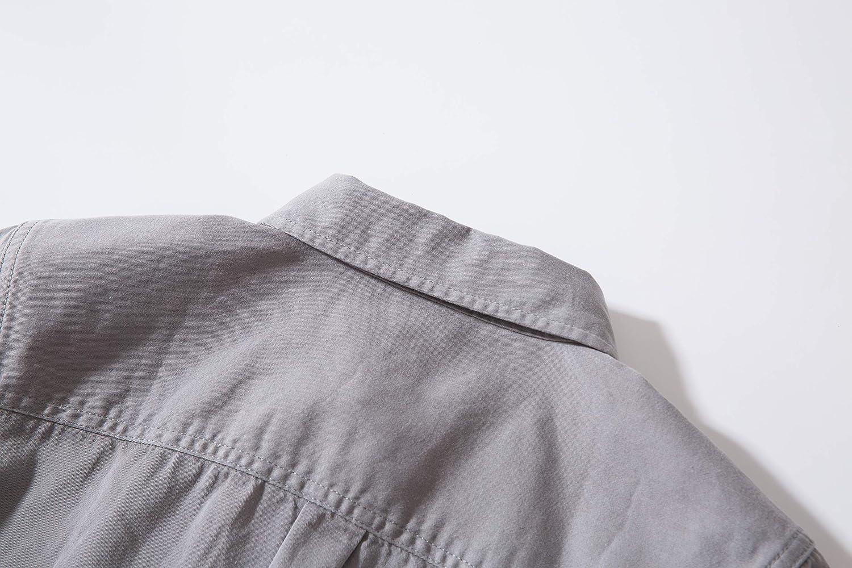 Tronjori Boys Short Sleeve Button Down Woven Shirt