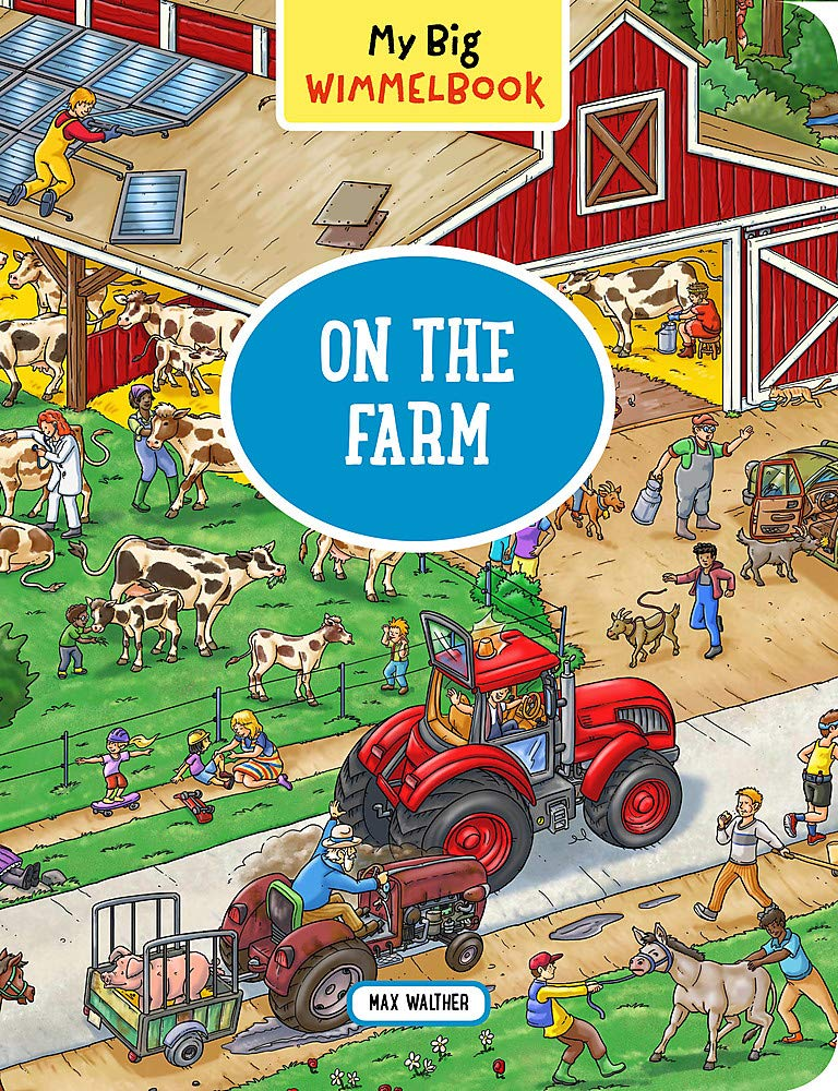 Big Wimmelbook_On Farm Max Walther product image