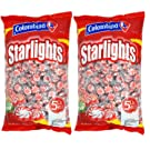 Nosh Pack Peppermint Starlight Mints Individually Wrapped Candy Bulk 10 Pounds – Approx. 800 Mints