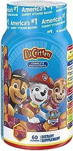 L'il Critters Paw Patrol Complete Multivitamin Gummies, 60 count