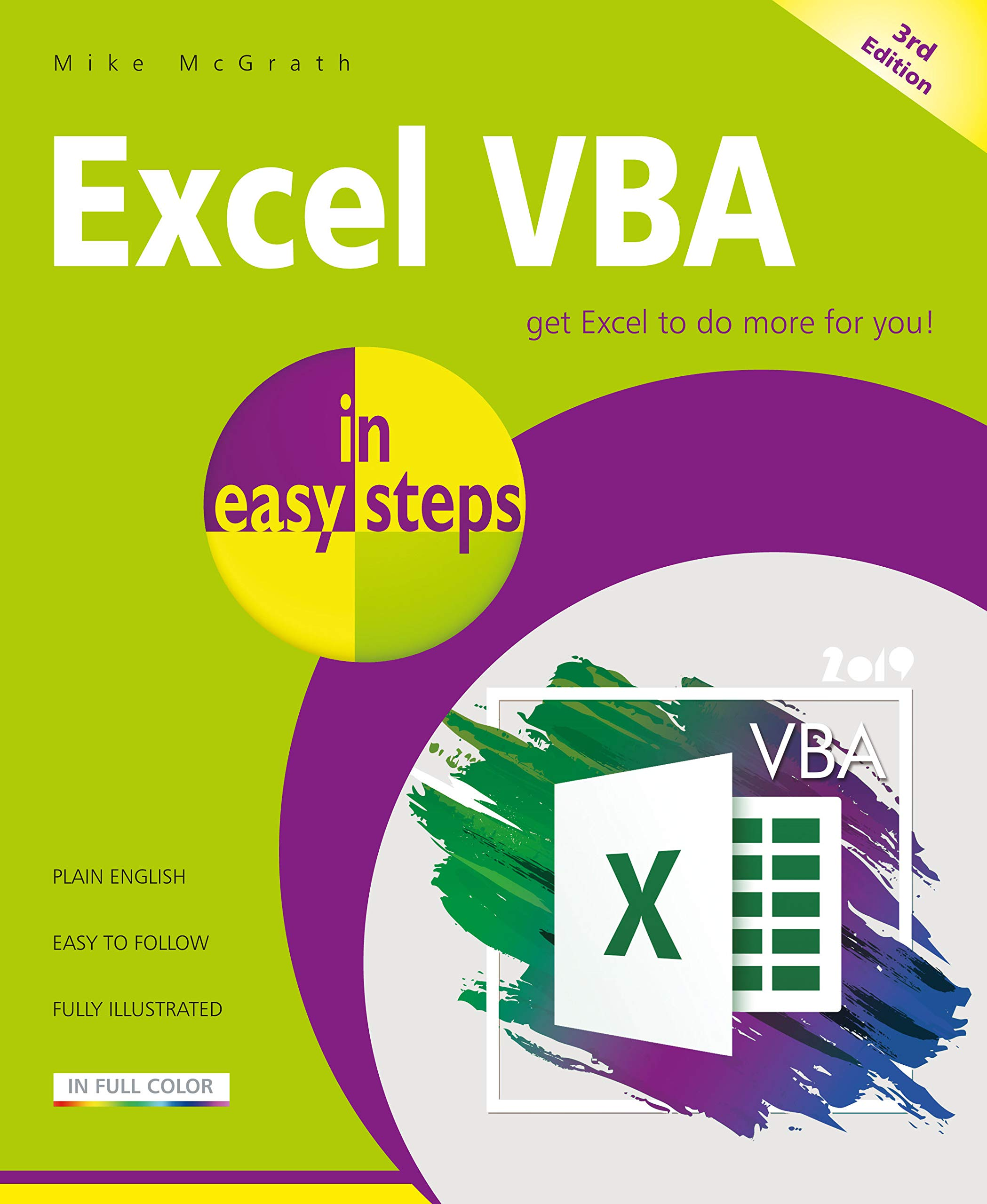 Excel VBA in easy steps, 3rd edition: Amazon co uk: Mike