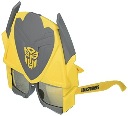 3fd6b06ccf Image Unavailable. Image not available for. Color  Costume Sunglasses  Transformers Bumblebee Tall Sun-Staches ...