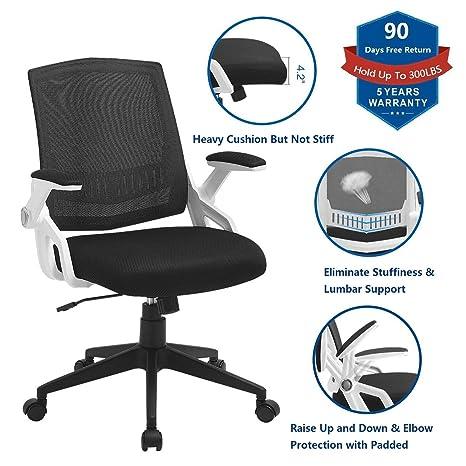 Amazon.com: ZLHECTO Silla de oficina ergonómica, sillas de ...
