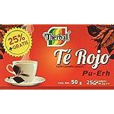 Therbal, Té Rojo PU ERH 25 sobres, 50 gramos.