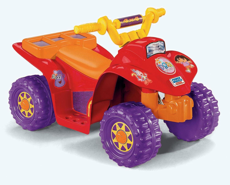 Amazon Power Wheels Dora Lil Quad Toys Games