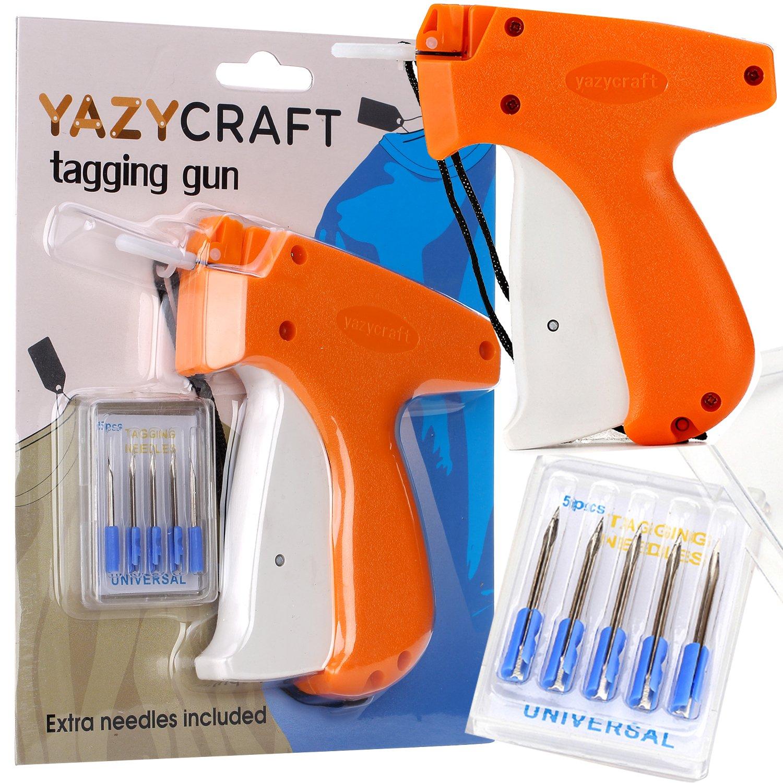 YazyCraft Tagging Gun Price Tag Fastener with 5 Replacement Needles Kit