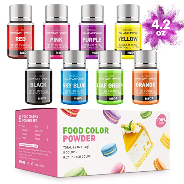 Top 9 Pink Food Coloring Powder