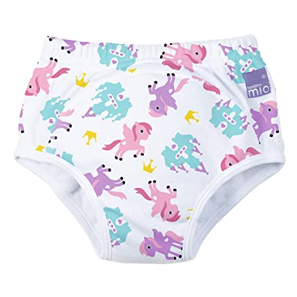 4 Packs Toddler Potty Training Pants Cotton Training Pants 18M Flyish Baby Potty Training Pants Mixed Boys and Girls 3T