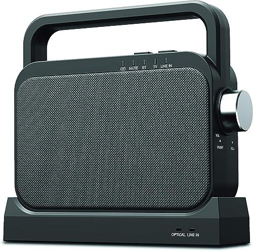 COBY Wireless Digital Hearing Amplifier TV Audio Speaker
