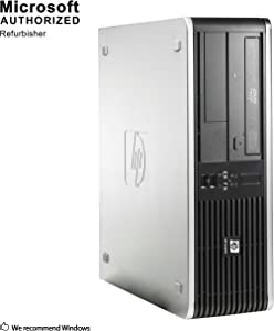 HP RP 5800 Small Form Factor Business Desktop PC, Intel Core i3-2120 3.3GHz, 4G DDR3, 320G, WiFi, Bluetooth 4.0, DVD, Windows 10 64-Multi-Language Support English/Spanish/French (Renewed)