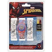 Spiderman Reloj de Pulsera Digital Correa para Pintar