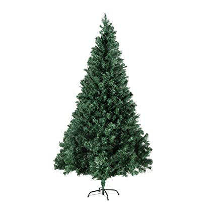06abf7292c8 Image Unavailable. Image not available for. Color  LAGRIMA Unlit Christmas  Tree Artificial Christmas Tree 7FT with Solid Metal Stand Xmas Trees Perfect  for
