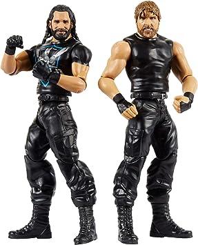 WWE Pack de 2 - Figuras de acción luchadores Henry vs Brown, juguetes niños +6 años (Mattel GBN61): Amazon.es: Juguetes y juegos