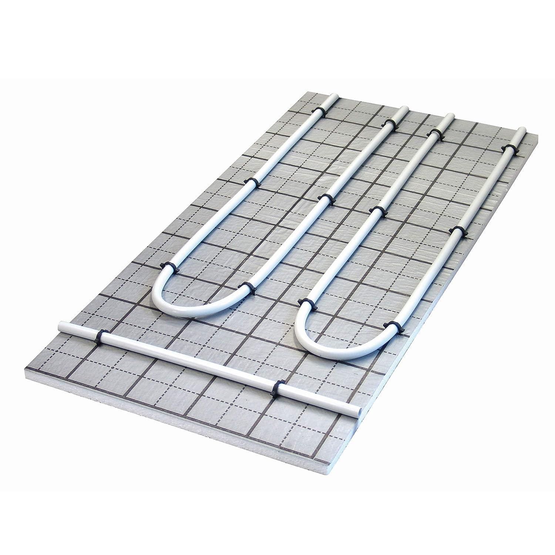 HoWaTech TAC Warmwasser Fu/ßbodenheizung Komplettset Regelbox TH-RTL Heizfl/äche:10.00m/²