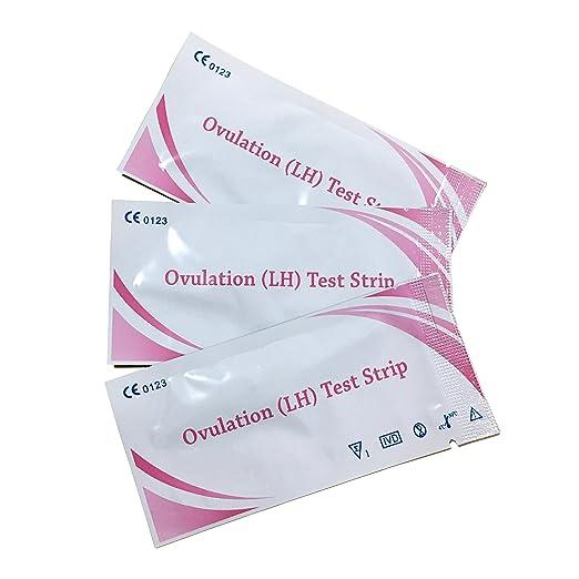 Tiras de prueba de ovulación 30 pcs, y tiras de prueba de embarazo 10 pcs