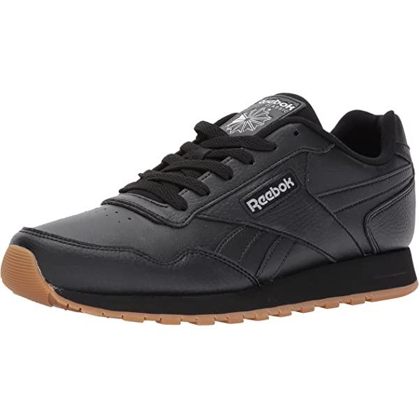 Reebok Classic Harman Run Sneaker, BlackGum, 6.5 M US