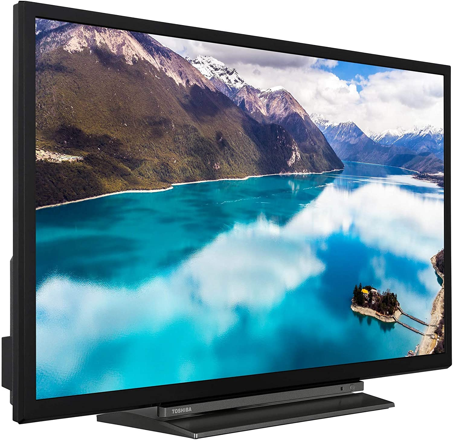 2020 Model Alexa Built-in Toshiba 24WK3A63DB 24-Inch HD Ready Smart TV with Freeview Play