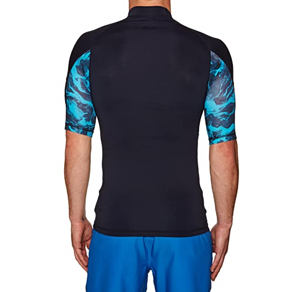 Quiksilver Slash - Short Sleeve UPF 50 Rash Vest - Hombre: Amazon.es: Ropa y accesorios