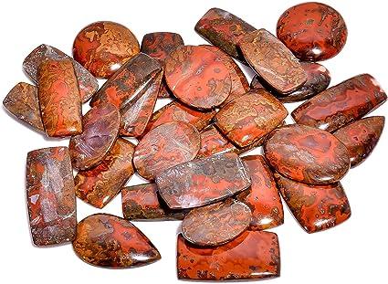 Natural Seam Agate Cabochon Semi Precious Cabochons loose stone jewelry stone Hand Polish Jewelry making 45x20x5 mm Ct 42 #M216
