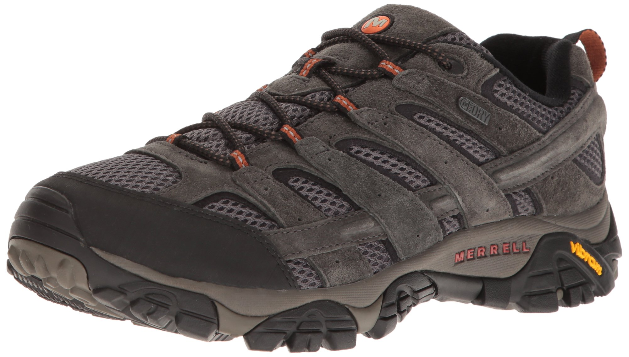 Merrell Men's Moab 2 Waterproof Hiking Shoe, Beluga, 8 M US