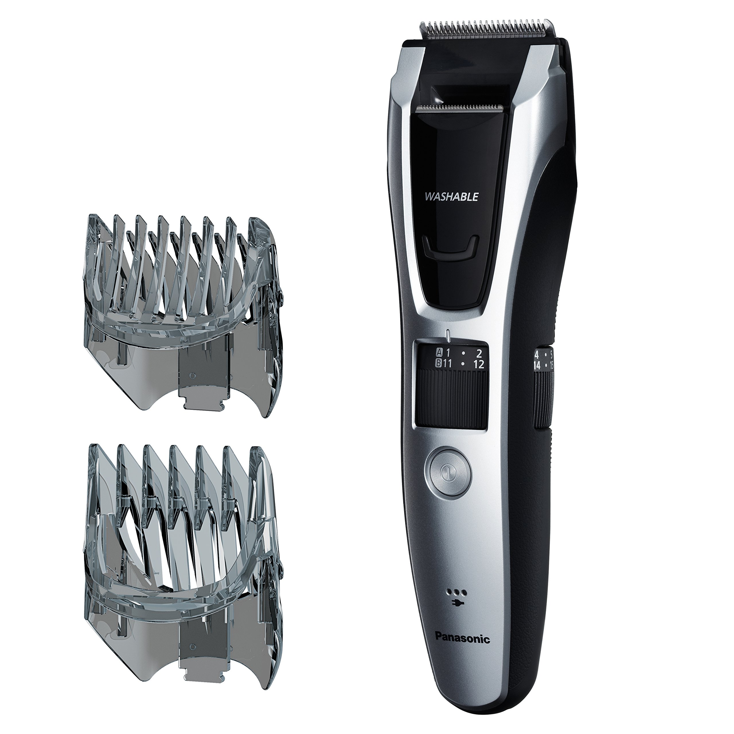 Panasonic ER-GB70-S Beard and Mustache Trimmer and Hair Clipper for Men by Panasonic