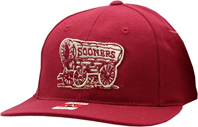 Amazon.com  Oklahoma Sooners Fitted Hat Alter Ego 7 1 4  Clothing bd19c729b9d9