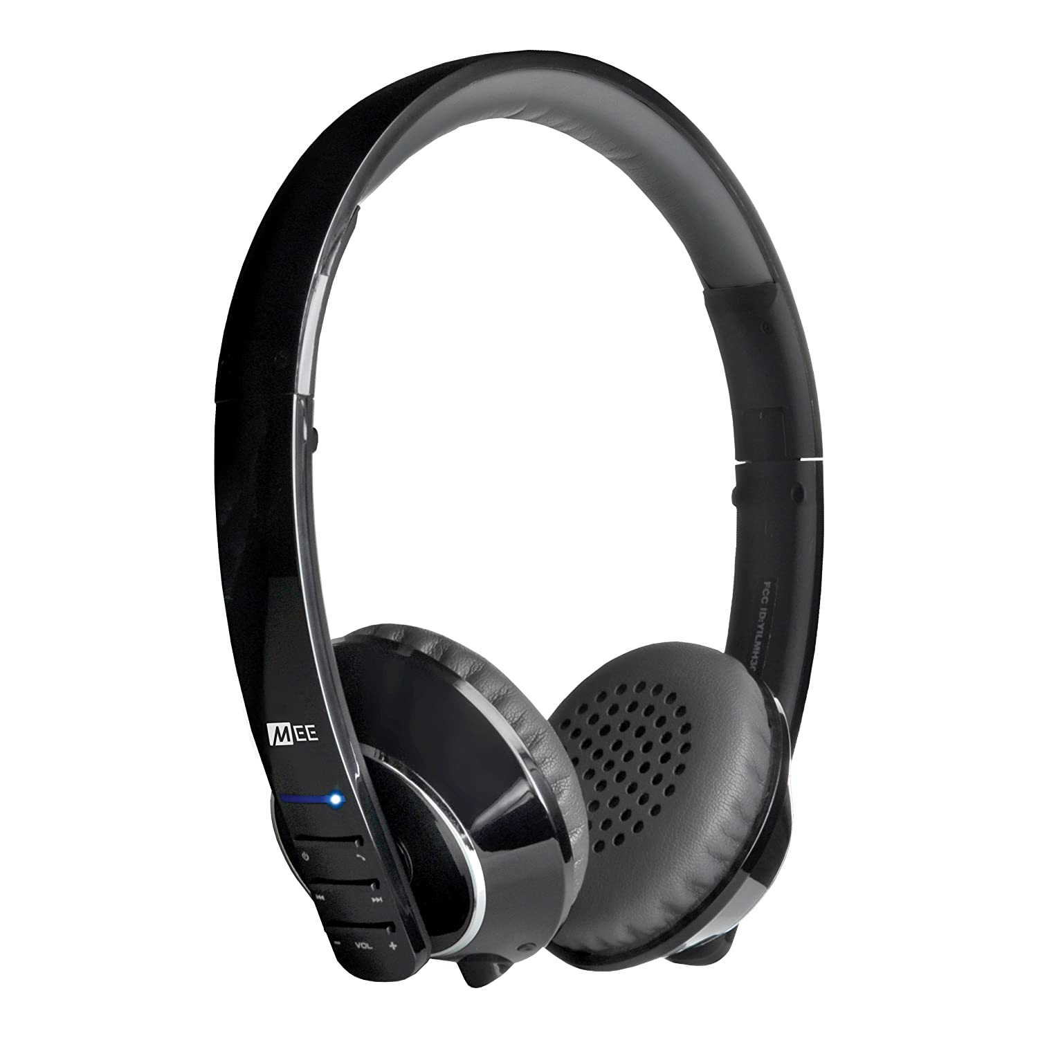 MEE audio Runaway 4.0 Bluetooth Stereo Wireless + Wired Headphones with Microphone (Black)
