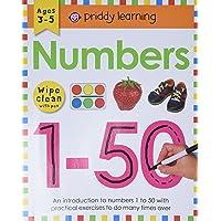 Wipe Clean Workbook: Numbers 1-50: Ages 3-5; wipe-clean with pen