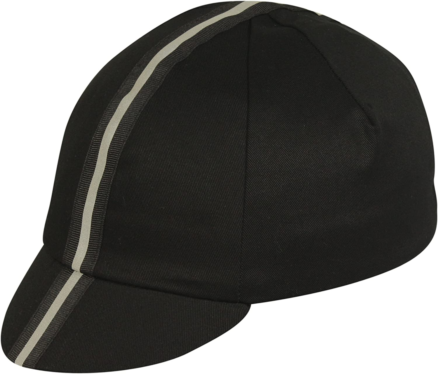 Pace Sportswear Traditional Reflective Cap Black