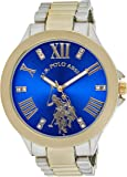 U.S. Polo Assn. Women's Quartz Metal and Alloy Casual WatchMulti Color USC40227