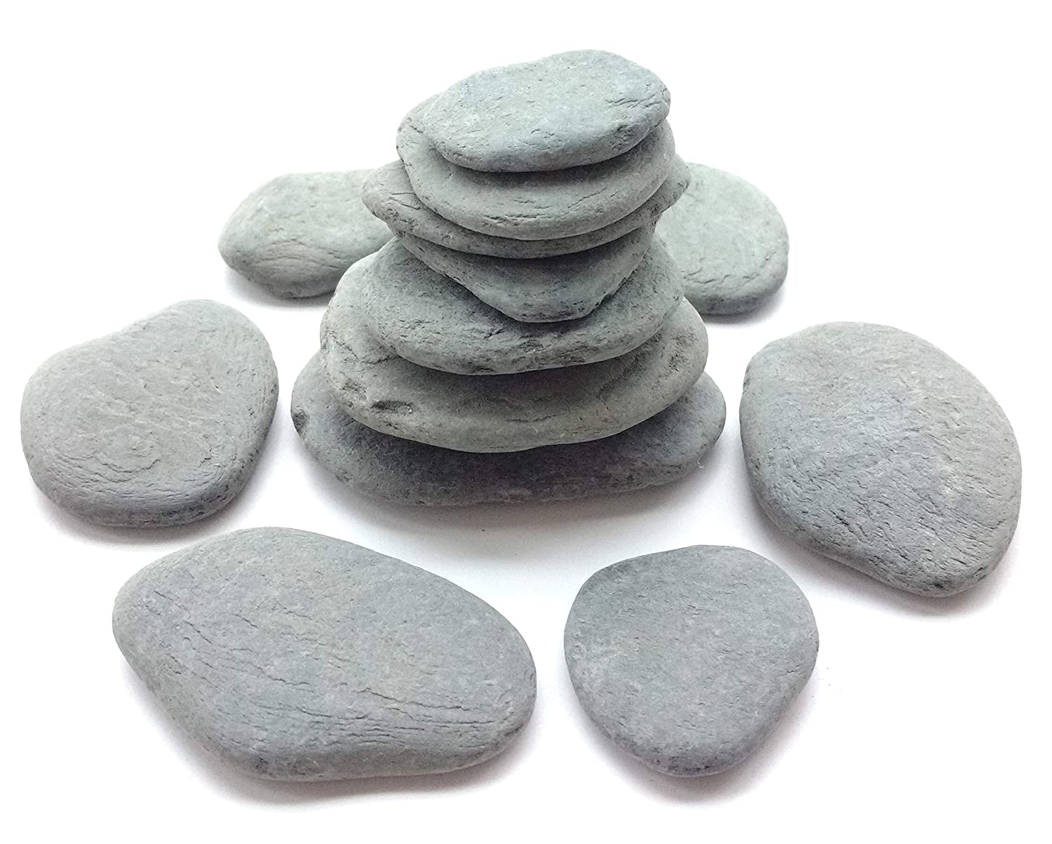 Capcouriers Flat Rocks - Smooth & Small Flat Rocks
