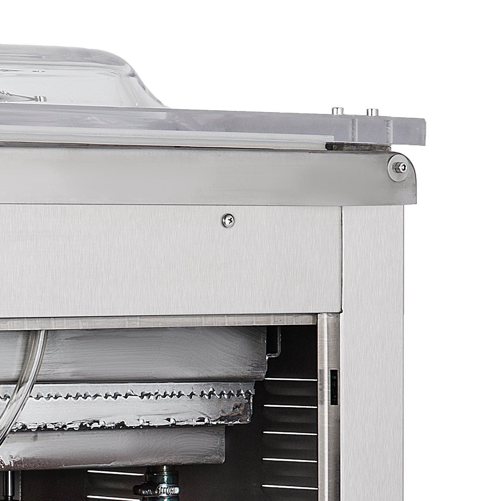 Happybuy DZ-400/2E Chamber Vacuum Sealer 1000W Vacuum Sealer Machine Automatic Vacuum Packing Sealing Sealer Machine for Home or Commercial Use (DZ-400/2E) by Happybuy (Image #8)