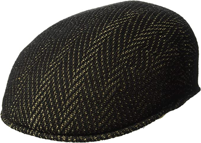 Kangol Herringbone 504 Flat Cap