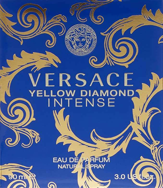 Versace Yellow Diamond Intense Agua de Perfume Vaporizador - 90 ml: Amazon.es: Belleza