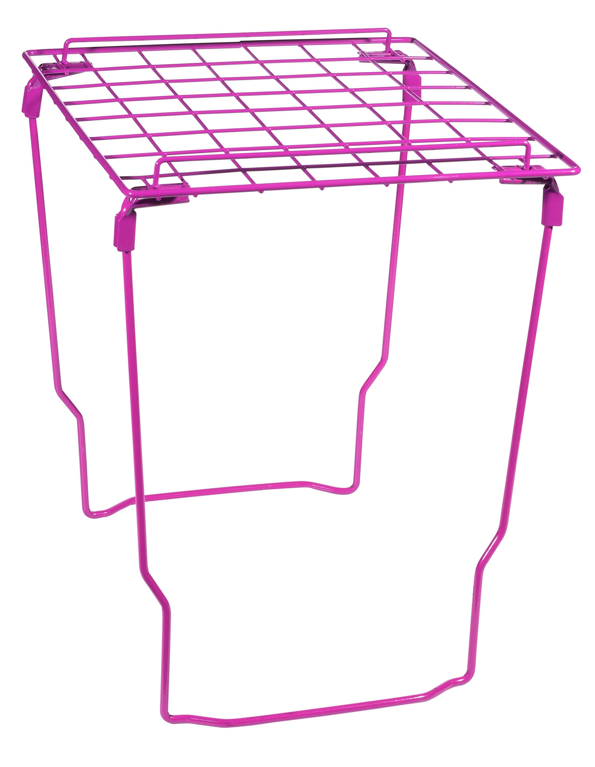 School Locker Decor/ Accessories Set - Locker Shelf, Magnetic Locker Curtain & Stylish Magnets by Style It