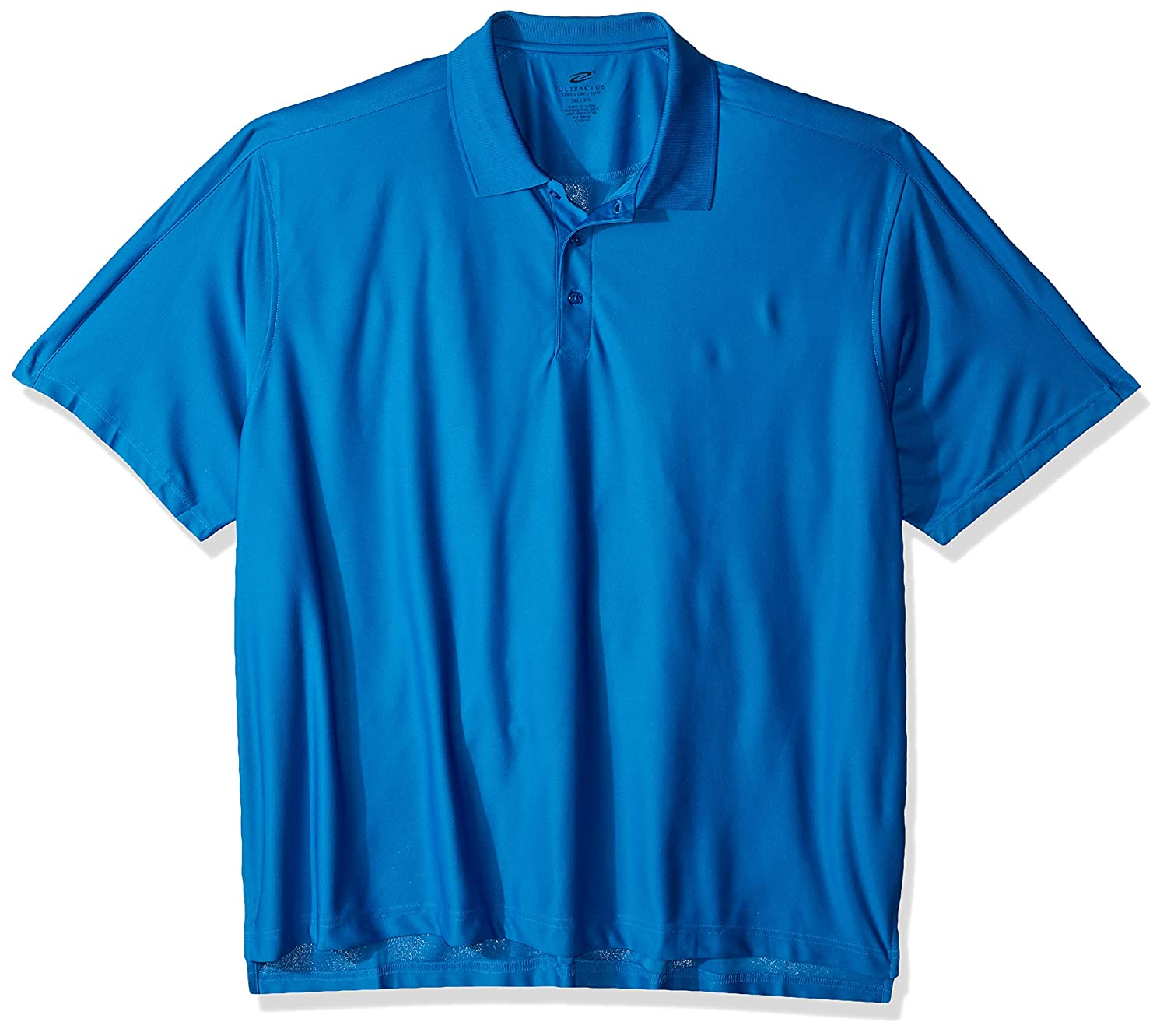 UltraClubs Mens Ultc-8415-cool /& Dry Elite Performance Polo