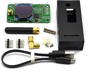 MMDVM Hotspot Board + Aluminium Case Support UHF VHF Support P25 DMR YSF DSTAR NXDN POCSAG for Raspberry Pi-Zero W, Pi 3