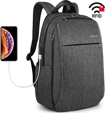 Tigernu Fashion Laptop Business Backpack Men Women Waterproof School Travel Bag
