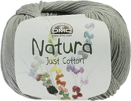 DMC Natura Hilo, 100% algodón, Gris Argent N09: Amazon.es: Hogar