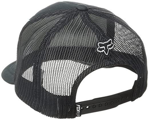 Amazon.com: Fox Mens Flat Bill Snapback Hat, Black12, One Size: Clothing