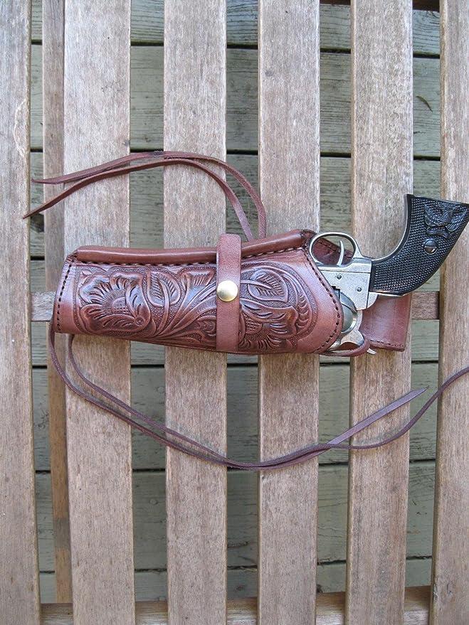 Amazon.com: Shotgun Lilli - Cinturón para pistola (cuero ...