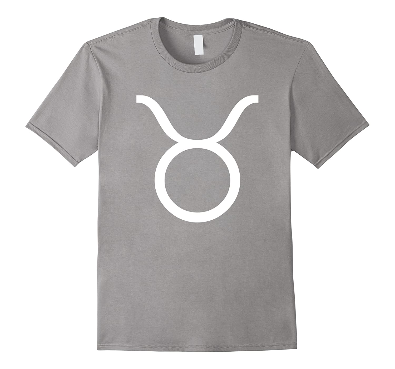 Taurus Symbol T-Shirt Zodiac Horoscope April May Birthday-FL