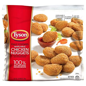Tyson Chicken Nuggets 20 Lbs Amazon Grocery Gourmet Food