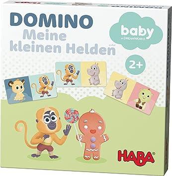 HABA 302896 – Domino Juego de Mesa. – Mis pequeñas Héroes – DreamWorks Babies: Amazon.es: Juguetes y juegos