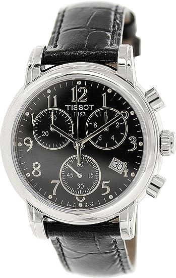 Tissot DRESSPORT T0502171605200 - Reloj de caballero de cuarzo, correa de caucho color amarillo