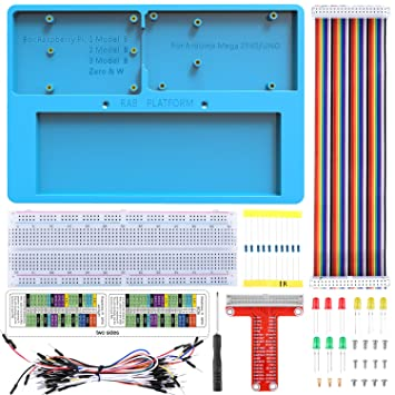 Kuman Für Arduino Raspberry Pi Holder Breadboard  Amazon.de ... 99c14ecd7a9e